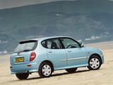 Daihatsu Sirion UK-spec 2001–04 photos