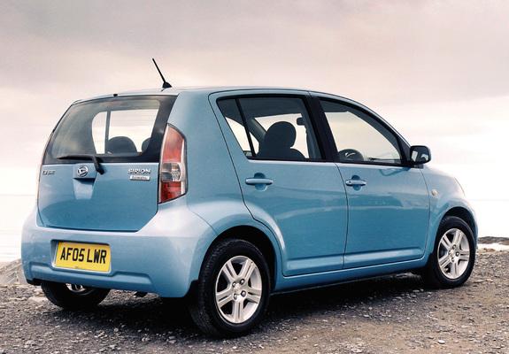 Daihatsu Sirion UK-spec 2005–07 photos