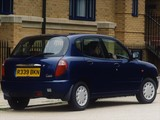 Photos of Daihatsu Sirion UK-spec 1998–2001