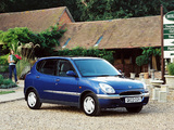 Pictures of Daihatsu Sirion UK-spec 1998–2001
