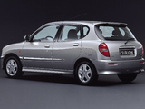 Pictures of Daihatsu Sirion 2001–04