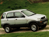 Daihatsu Terios UK-spec 1997–2000 pictures