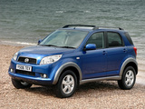 Daihatsu Terios UK-spec 2006–09 images