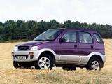 Images of Daihatsu Terios Plus UK-spec 1997–2000