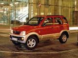Images of Daihatsu Terios EU-spec 2000–05