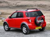 Images of Daihatsu Terios UK-spec 2006–09