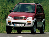 Pictures of Daihatsu Terios EU-spec 1997–2000