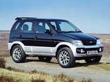 Daihatsu Terios Sport UK-spec 2003–05 wallpapers