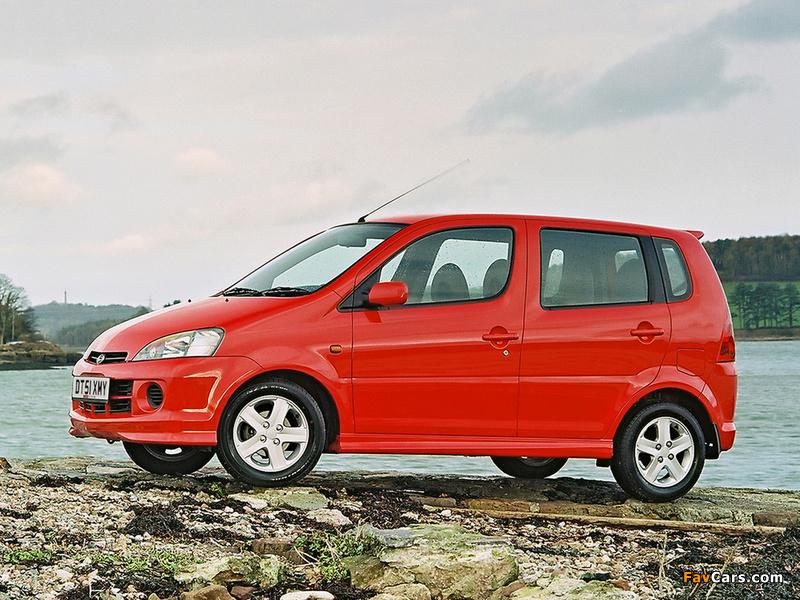 Daihatsu YRV 2000–06 photos (800 x 600)