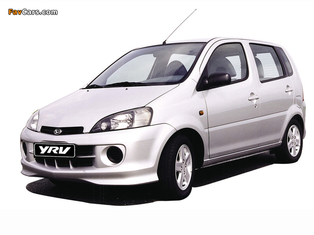 Daihatsu YRV 2000–06 wallpapers (640 x 480)