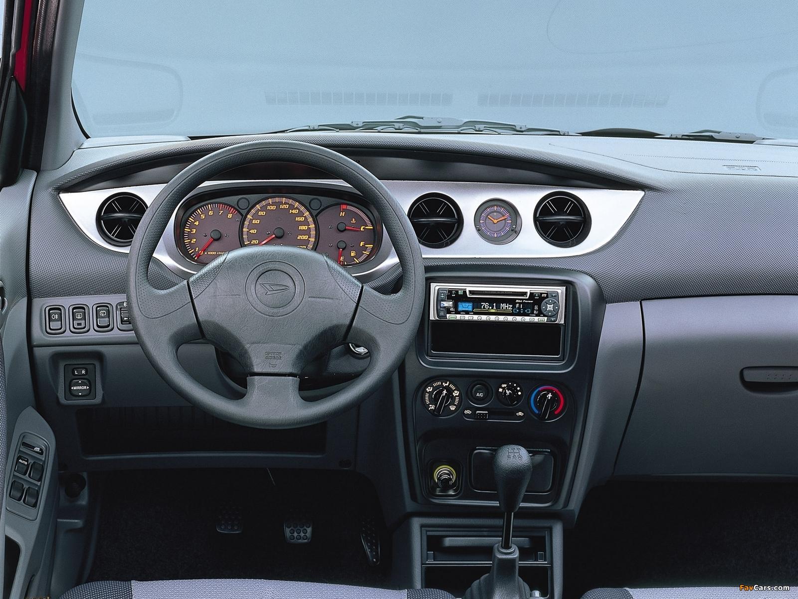 Images of Daihatsu YRV 2000–06 (1600 x 1200)