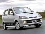 Daihatsu YRV Turbo 2001–06 wallpapers