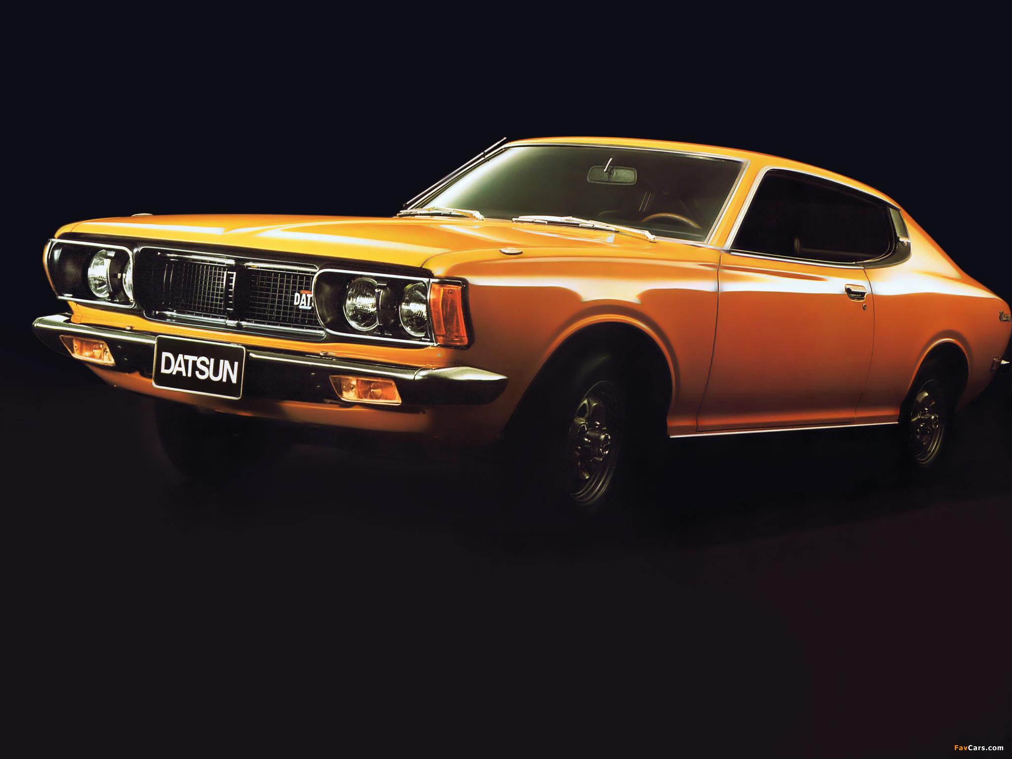 datsun 180b coupe 610 1973 76 photos