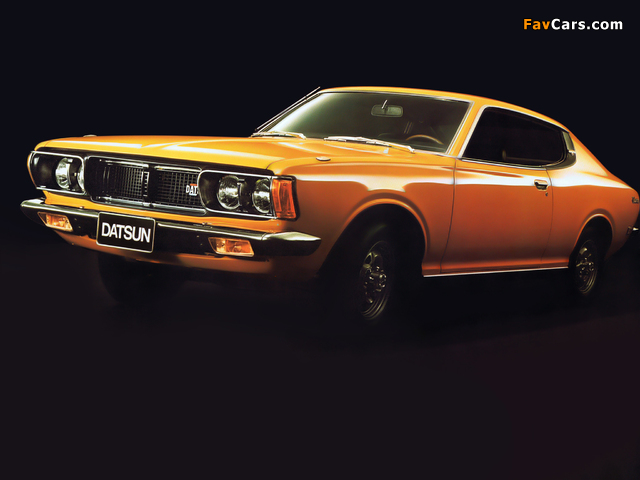 Datsun 180B Coupe (610) 1973–76 photos (640 x 480)