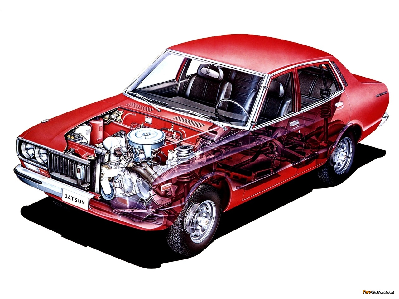 Images of Datsun 180B Sedan (810) 1976–78 (1280 x 960)