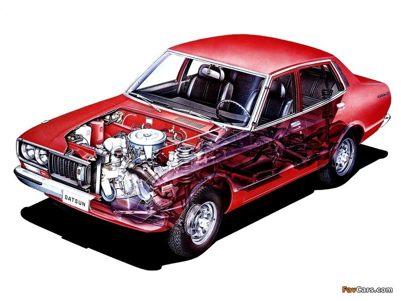 Images of Datsun 180B Sedan (810) 1976–78 (800 x 600)