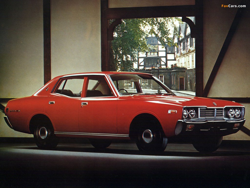 Datsun 220 Diesel (330) 1978 pictures (1024 x 768)