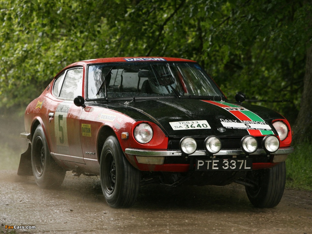 Datsun 240Z Rally (S30) 1971–73 pictures (1024 x 768)