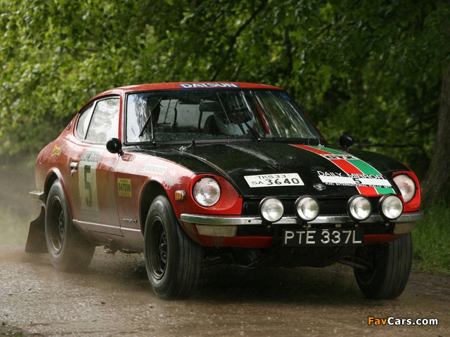 Datsun 240Z Rally (S30) 1971–73 pictures (640 x 480)