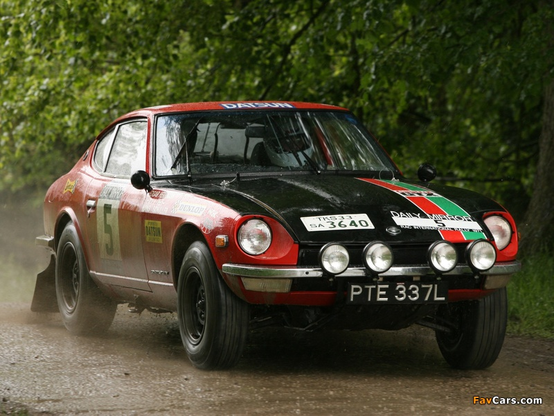 Datsun 240Z Rally (S30) 1971–73 pictures (800 x 600)