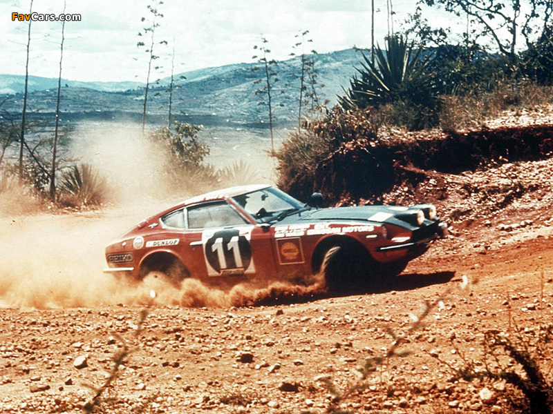 Datsun 240Z Rally (S30) 1971–73 wallpapers (800 x 600)