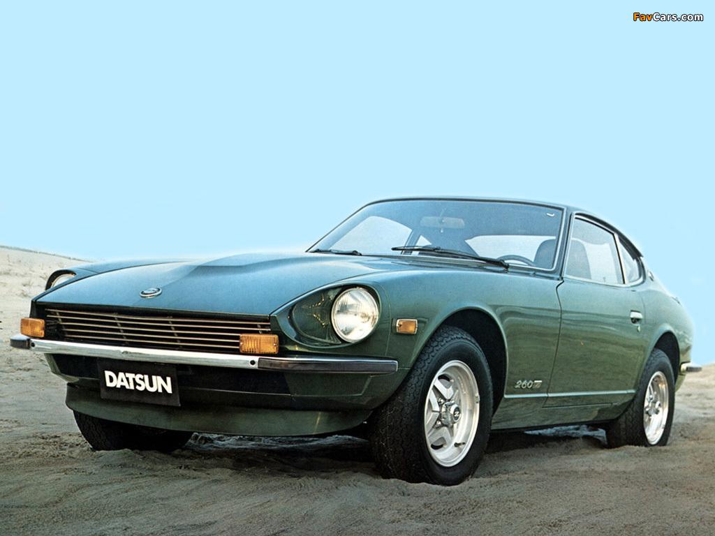 Datsun 260Z (RLS30) 1974–78 wallpapers (1024 x 768)