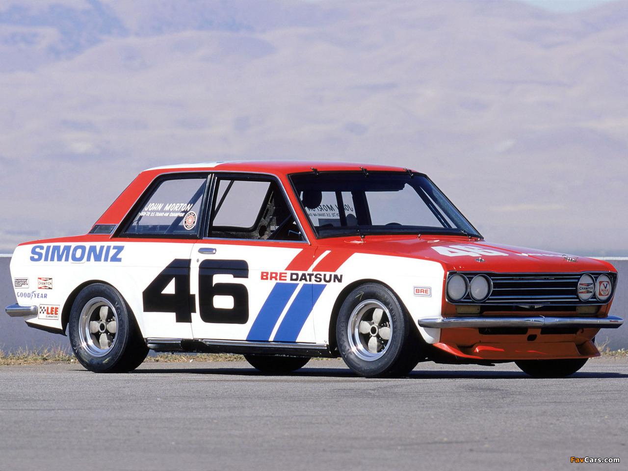 Photos of Datsun 510 Trans Am 1971–72 (1280 x 960)