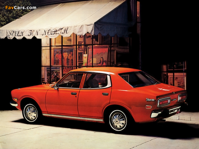 Photos of Datsun 610 4-door Sedan 1971–73 (640 x 480)