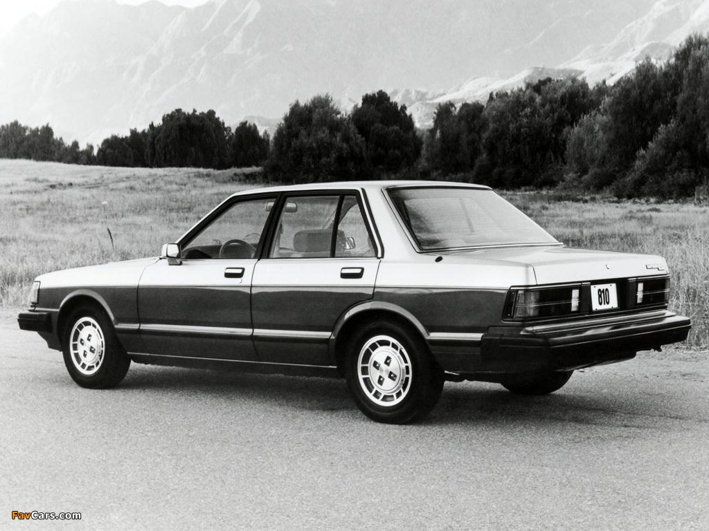 Datsun 810 Maxima 1981–84 wallpapers (1024 x 768)