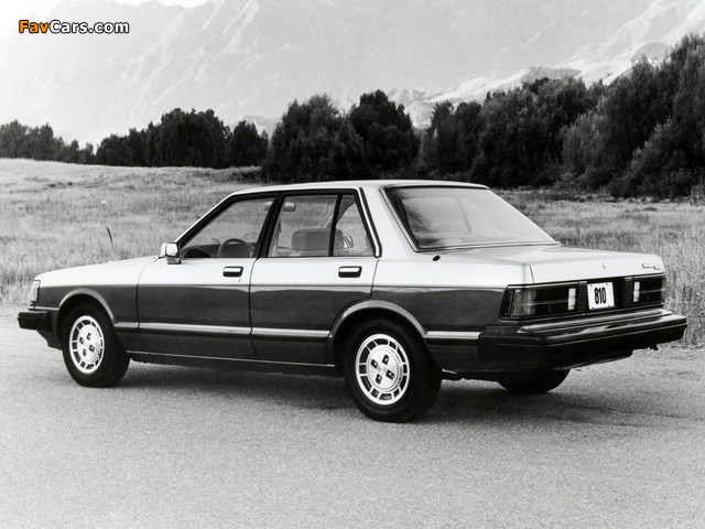 Datsun 810 Maxima 1981–84 wallpapers (640 x 480)