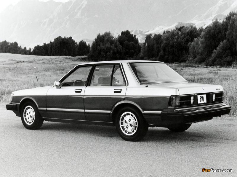 Datsun 810 Maxima 1981–84 wallpapers (800 x 600)