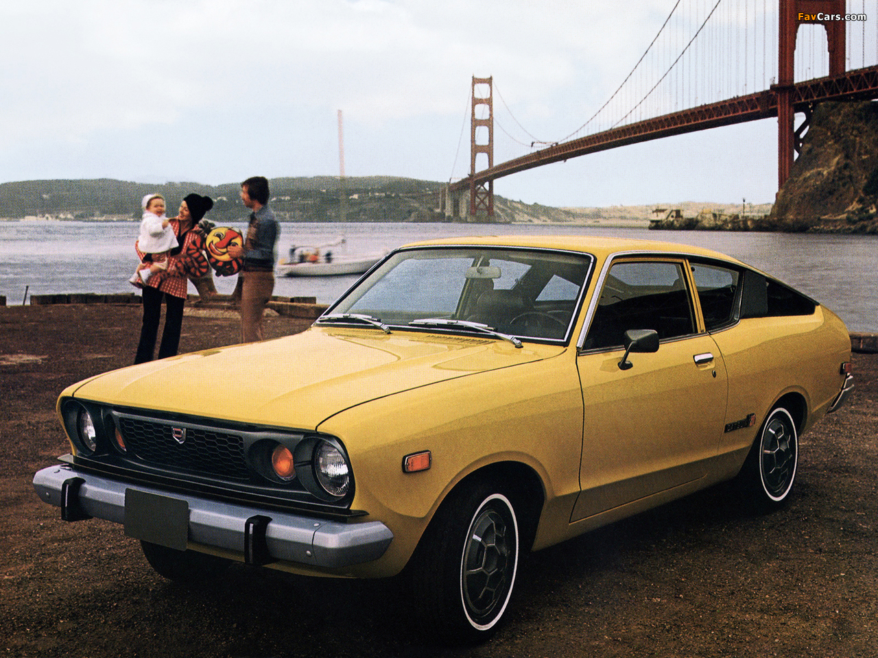 Datsun B-210 Coupe 1975 pictures (1280 x 960)