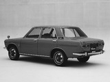 Datsun Bluebird 4-door Sedan (510) 1967–72 photos
