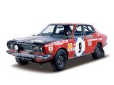 Datsun Bluebird U Sedan Rally Car (610) 1971–73 images