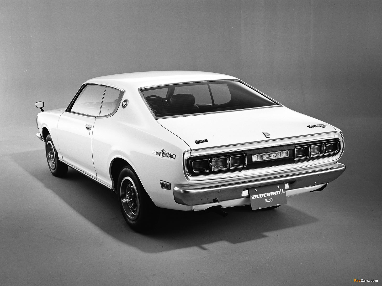 Datsun Bluebird U Coupe 610 1973 76 Photos 1600x1200