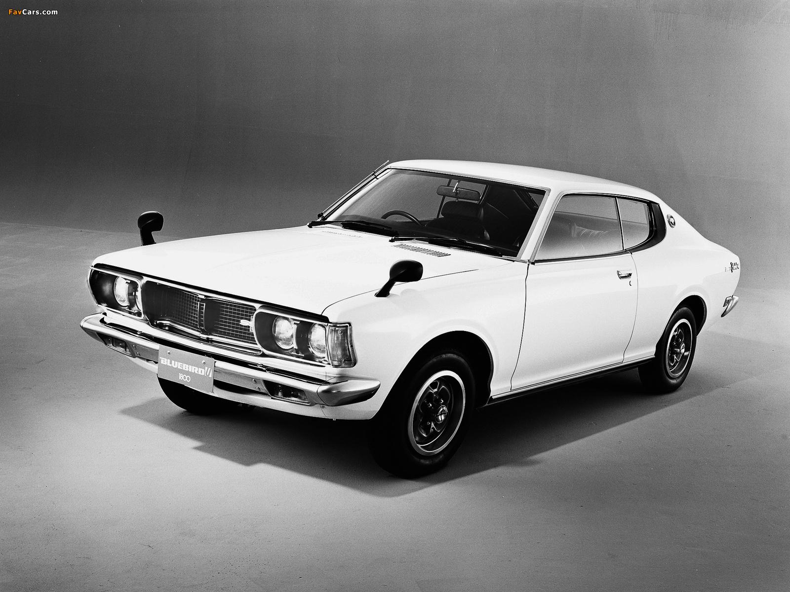 datsun bluebird u coupe 610 1973 76 wallpapers