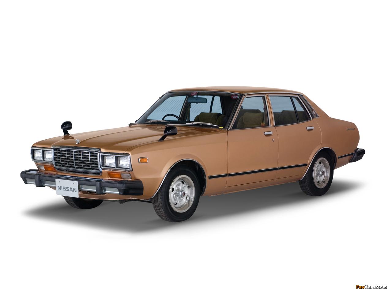 Pictures of Datsun Bluebird Sedan (810) 1978–79 (1280 x 960)