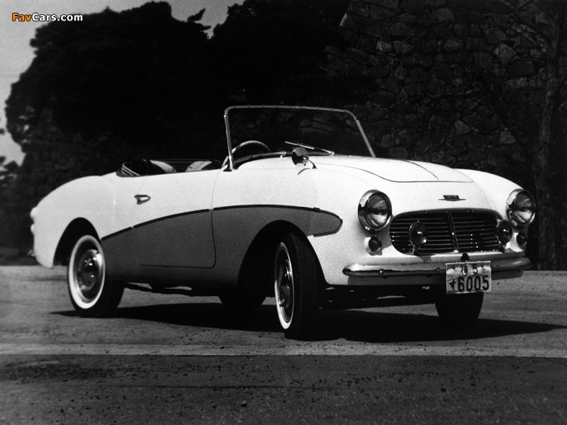 Datsun Sports (S211) 1959–60 wallpapers (800 x 600)