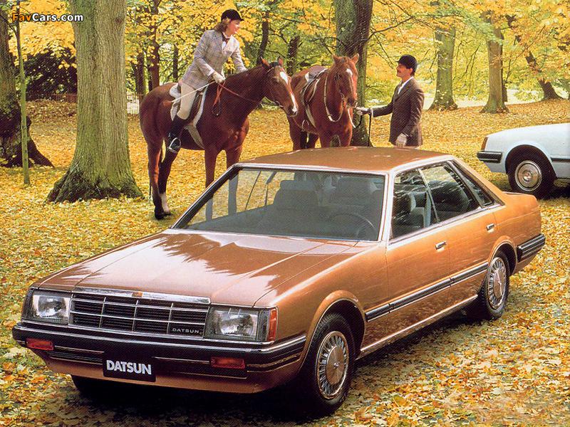 Photos of Datsun Laurel (C31) 1980–84 (800 x 600)
