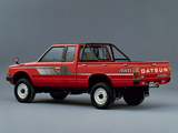 Datsun Pickup 4WD King Cab JP-spec (720) 1980–85 images