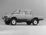 Datsun Pickup 4WD Double Cab JP-spec (720) 1980–83 images