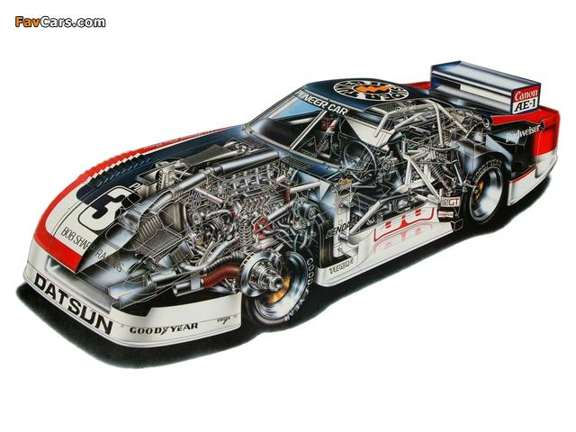 Datsun Silhouette Formula IMSA-GTU Car 1981 photos (640 x 480)
