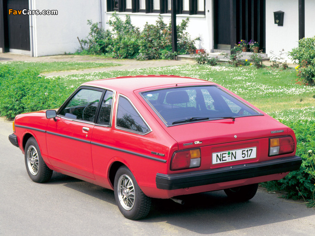Datsun Sunny Coupe (B310) 1978–80 images (640 x 480)