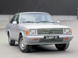 Datsun Sunny GT (B310) 1979–81 photos