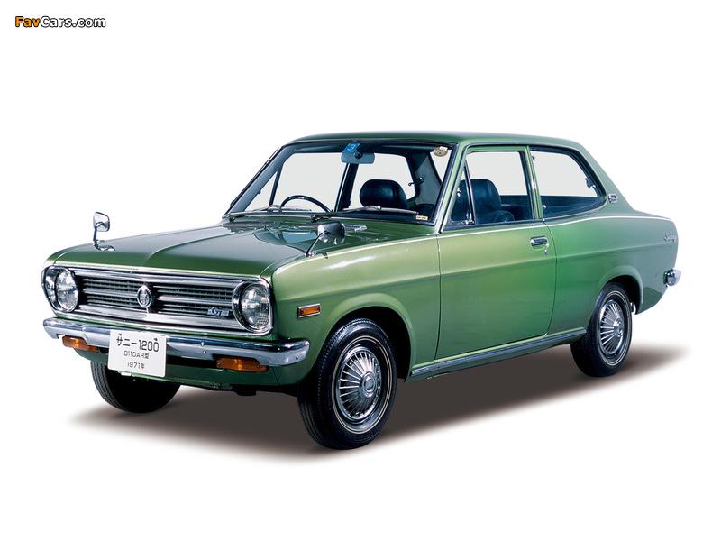 Photos of Datsun Sunny 2-door Sedan (B110) 1970–73 (800 x 600)