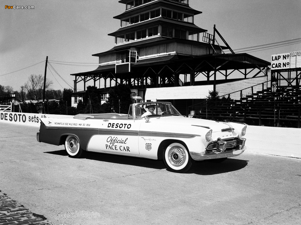 Images of DeSoto Adventurer Convertible Indy 500 Pace Car 1956 (1024 x 768)