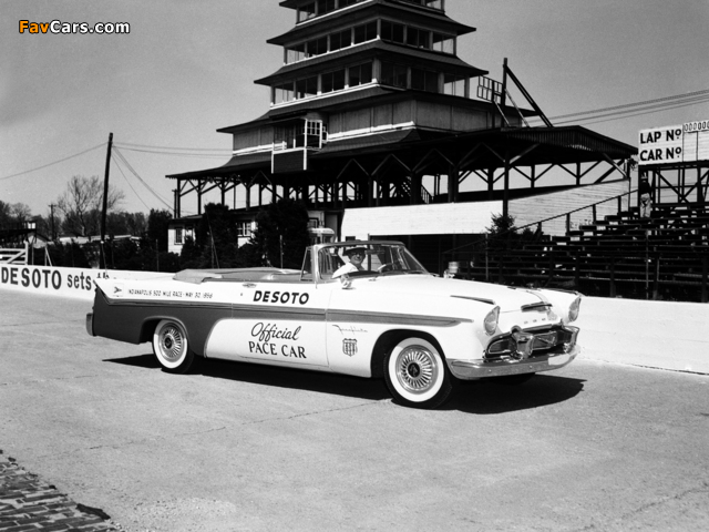 Images of DeSoto Adventurer Convertible Indy 500 Pace Car 1956 (640 x 480)