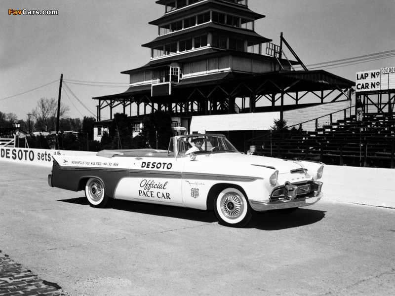 Images of DeSoto Adventurer Convertible Indy 500 Pace Car 1956 (800 x 600)