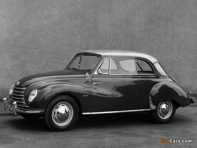 DKW 3=6 Sonderklasse Limousine Spezial (F91) 1953–55 images (640 x 480)