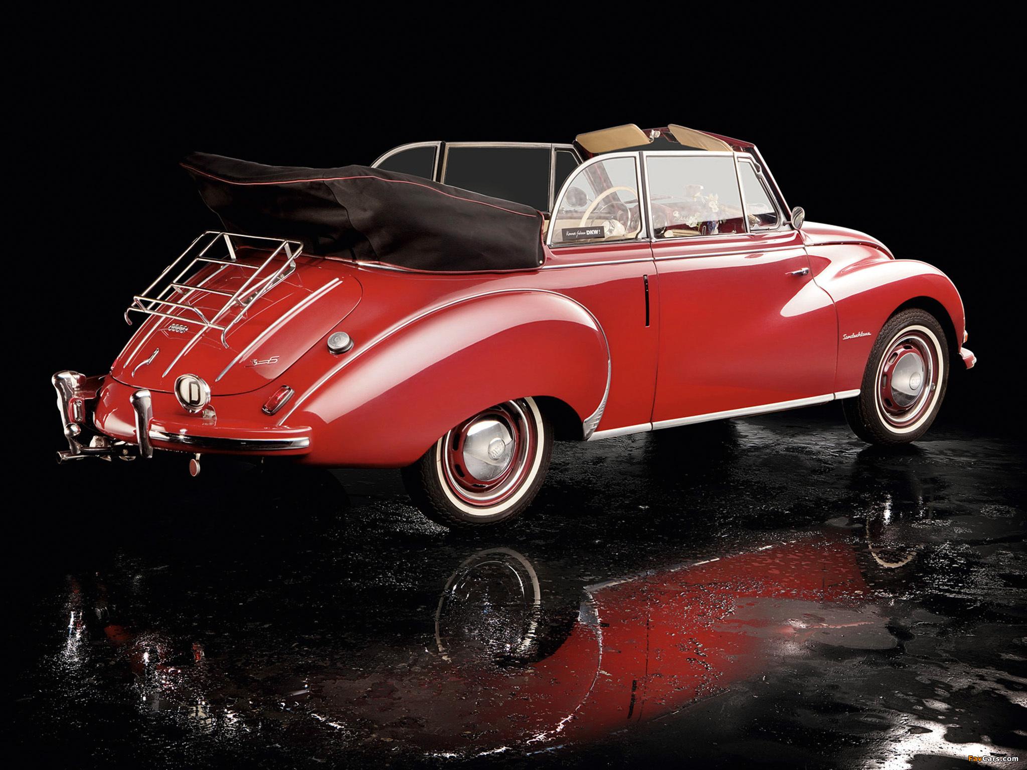 DKW 3=6 Cabrio (F93) 1955–59 photos (2048 x 1536)